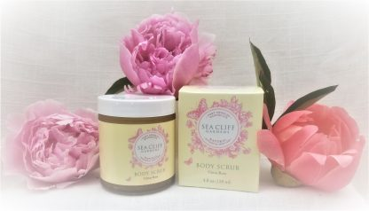 Body Scrub for Botanically activated scrub for clear, bright and beautifully exfoliated skin.
